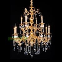 Die Casting Zinc Alloy Chandeliers Maria Theresa Chandeliers Wrought Iron Chandeliers antiqued brass finish rustic chandelier