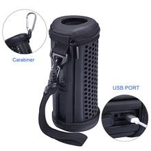 最新の PU ポータブル旅行のための旅行ポーチバッグ保護カバーケース JBL フリップ 4 Flip4 防水ワイヤレス Bluetooth スピーカー