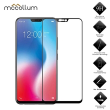 9H Screen Protector For VIVO X20 PLUS Tempered Glass Protective Film For Vivo V9 Y85 V15 X21 Nex 2 Glass Guard Touch Cover цена