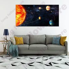 Huge Space Landscape Poster Milky Way Canvas Printed Abstract Wall Art Picture for Living Room Office Decor Retail Dropship