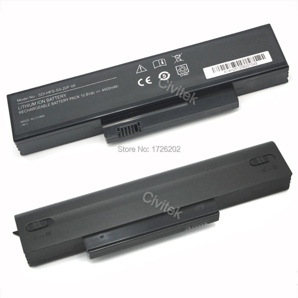 Bateria do laptopa 4400 MAH do Fujitsu V5515 SIEMENS Amilo La1703 / td V5535 V5555 V6515 ESPRIMO V6515 EFS-SA-XXF-04 EFS-SA-XXF-06