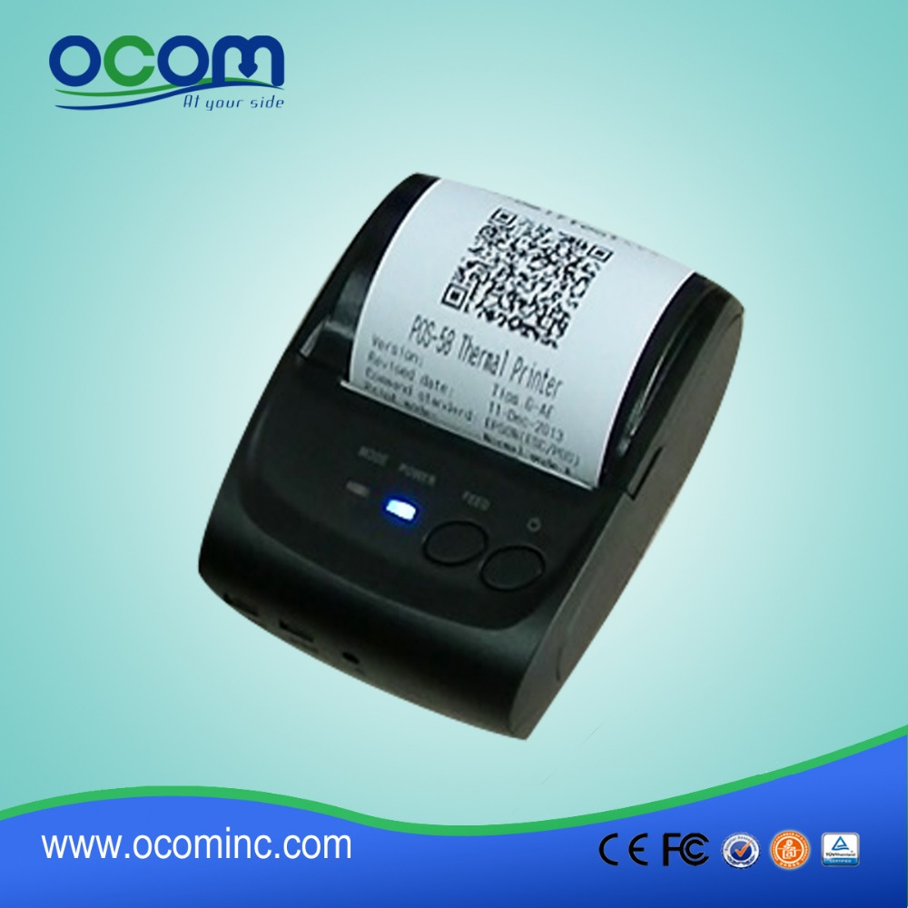 OCPP-M05 Small Size USB bluetooth with Battery POS Receipt Printer