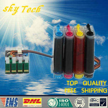 Full Ink CISS suit for T1711 - T1714 and T1701 series , Suit for Epson xp-103/33/203/207/303/306/403/406, With ARC chip ciss suit for epson stylus photo r1900 suit for t0870 t0871 t0879 series fulll dye ink ciss with arc chips