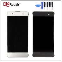 100 Tested Black White For Sony Xperia XA F3111 LCD Display Digitizer Touch Screen Assembly Replacement