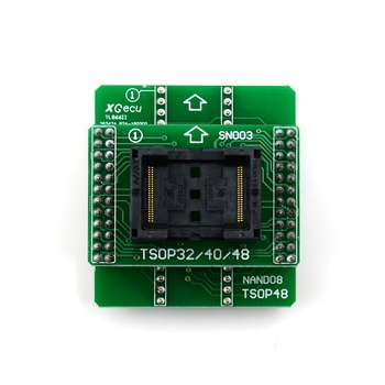 Andk Tsop48 Nand Adapter Only For Xgecu Minipro Tl866Ii Plus Programmer For Nand Flash Chips Tsop48 Adapter Socket