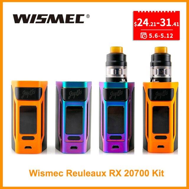 [RU/ES] Продвижение оригинальный wismec reuleaux RX2 20700 TC поле Mod/RX2 20700 комплект 4 мл Выход 200 W VW/TC/режим ТКС VS Gen3 двойной E-сигареты