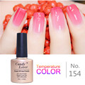 Candy Lover 10ml Mood Temperature Color Changing Nail Gel UV/LED Gel Polish Soak Off Long Lasting Gel Nail Polish High Quality