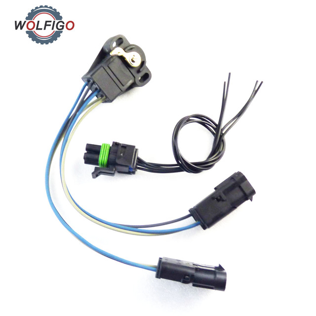 wolfigo throttle position sensor with connector pt127 for jeep