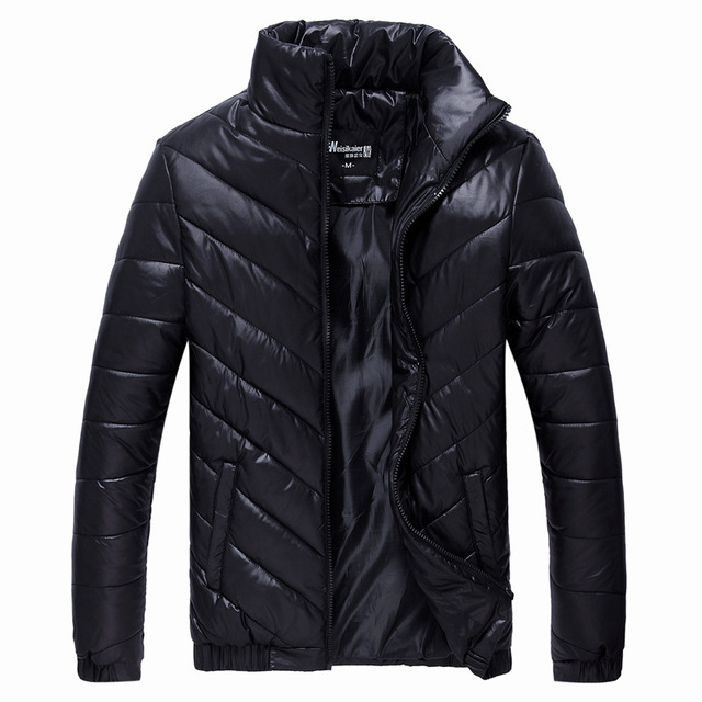 "Men 's cotton jacket autumn and winter new men ""s vertical thickening of fertilizer Men"" s jacket down jacket YF44"