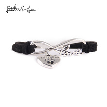 Beautiful best friend's love paw bracelet