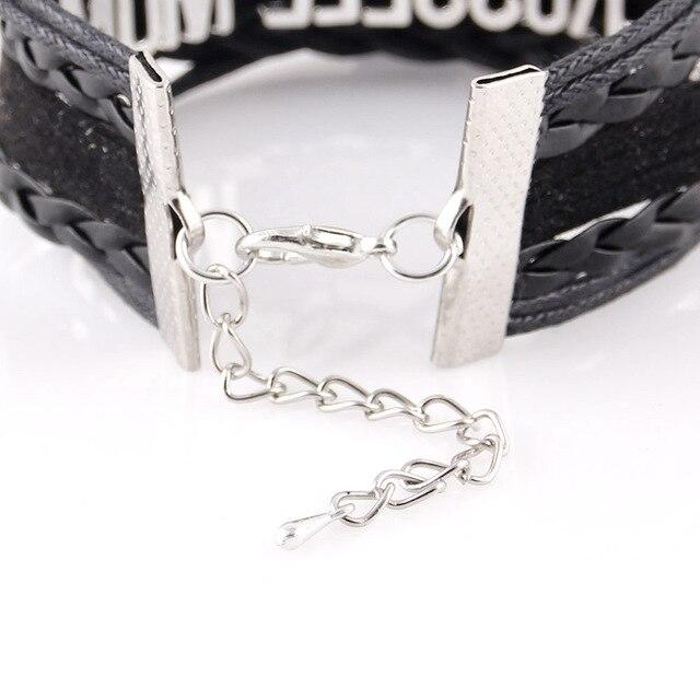 Litttle Minglou Infinity Love maine coon chat bracelet patte danimal de compagnie breloque en cuir enveloppement hommes bracelets & bracelets pour femmes bijoux