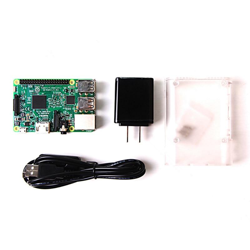 Kit de démarrage pour framboise Pi/framboise pi kit de développement/framboise Pi3 B type plaque framboise Pi 3 B kit de démarrage