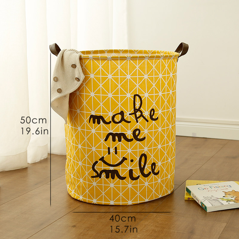 toys Organizer Box Clothes Dirty Laundry Storage Basket Large Capacity Waterproof Folding Laundry Basket title=