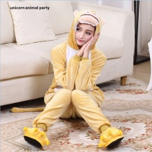 Kigurumi Unisex zodiac Cosplay monkey Pajamas Onesies Winter Kawaii Anime Hoodie Adult Christmas Costume Halloween jumpsuit
