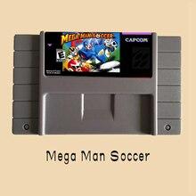 Mega Man Футбол 16 Бит Карточная игра Для США NTSC Игры