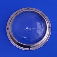 100 мм стеклянные линзы угол луча 60 градусов 90 градусов 100 градусов для Cree CXA3590 CXB3590 на светодиодный уличный фонарь