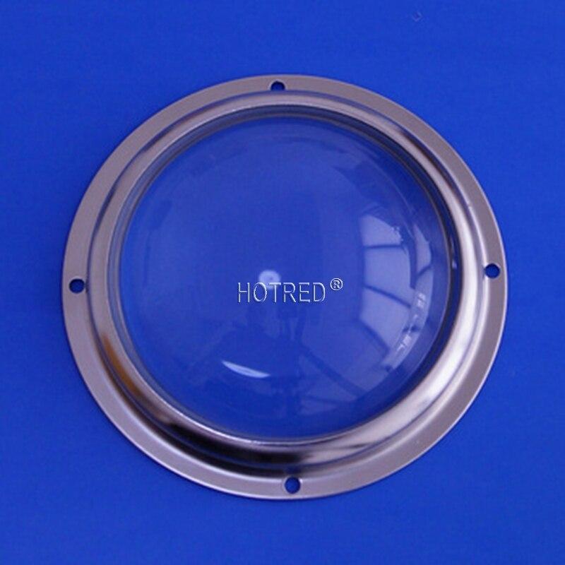 Ângulo de feixe das lentes de vidro de 100mm 60 graus 90 graus 100 graus para o cree cxa3590 cxb3590 na lâmpada alta da baía da rua do diodo emissor de luz