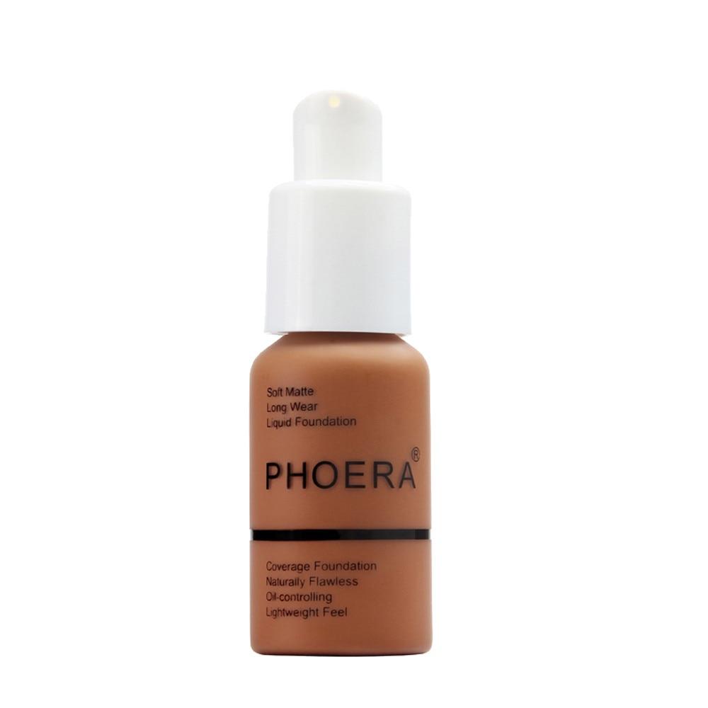 PHOERA Full Coverage Liquid Foundation 4