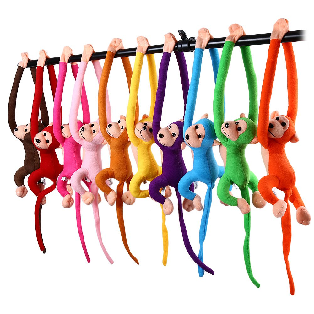 Baby Favorite Long Arm Hanging Monkey Plush Toys Doll High