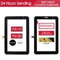 ОРИГИНАЛ ИСПЫТАНИЯ 7 дюймов Сенсорный Экран Для SAMSUNG Galaxy Tab 2 7.0 P3110 Touch P3100 Сенсорный Экран Запасные Части Клей