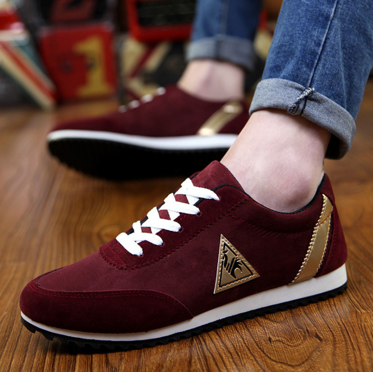 2019 New Mens Casual Shoes Canvas Shoes for Men Lace-up Breathable Fashion Summer Autumn Flats Fashion Male Shoes