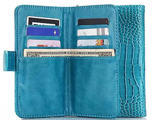Outdoor Lady Strap Hand Card Wallet Leather Mobile Phone Cases Bags Pouch For HTC Desire 816