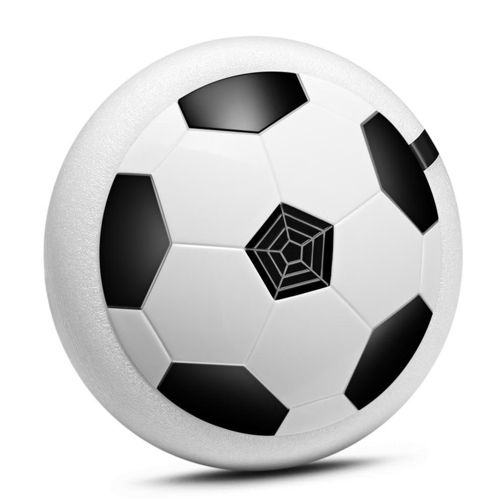 18CM Hovering Football LED Light Flashing Air Power Soccer Luminous Ball Disc Indoor Football Sports Educational Gift For Kids