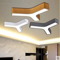 Iwhd Треугольники акриловые светодиодные Потолочные светильники Современный Лаконичный потолочный светильник быть свободно комбинировать