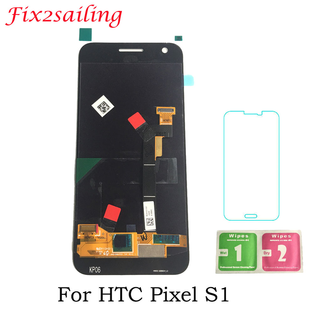 Super Amoled LCDS Display For Google Pixel For HTC Google Pixel LCD Nexus S1 LCD Display Touch Screen 5.0inch Original Display