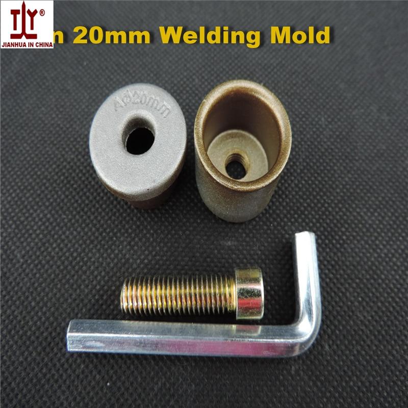 Popular welding parts, Good quality Thin die head, 20mm Welding Mold, PPR/PE/PB Water Pipe hotmelt butt welding