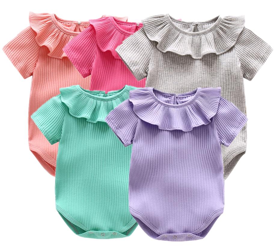 Baby Girl Rompers Summer Baby Boy Clothing Sets Short Sleeve Newborn Baby Rompers Roupas Bebe Infant Jumpsuits Kids Clothes Sets new summer baby girl clothing sets cotton rainbow flower short sleeve rompers and ruffle bloomers newborn infant girls clothes