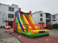 (China Guangzhou) inflatable slides,Castle slides Inflatable water slide Clown inflatable slide BYS 12