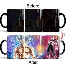 Dragon Ball Color Changing Mugs Cups