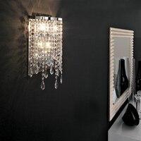 Mirror Front Corridor Hallway Wall Light led crystal wall lamp modern wall lights led mirror light lamp led crystal wall lights