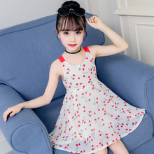 Hot Sale 2019 New Baby Girl Clothes Summer Flower Girls Dress Fashion Cute Sling Floral Kids Dresses For Girls Princess Dress цены