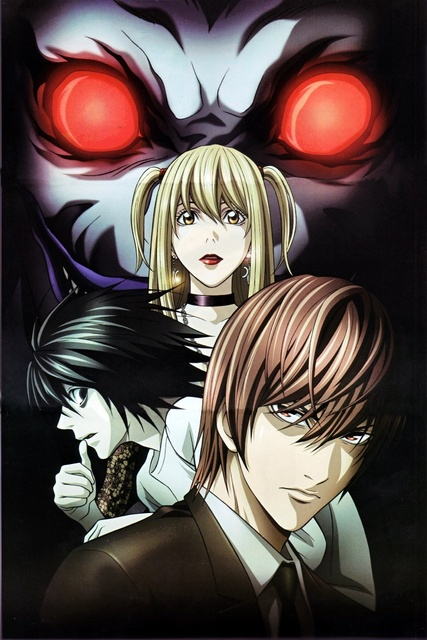 Anime Death Note Series L Character Light Yagami Character Misa