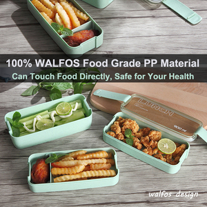 New Arrive 900ml Japanese Microwave Lunch Box Portable 3 Layer Bento Box Healthy Food Container Oven Dinnerware set