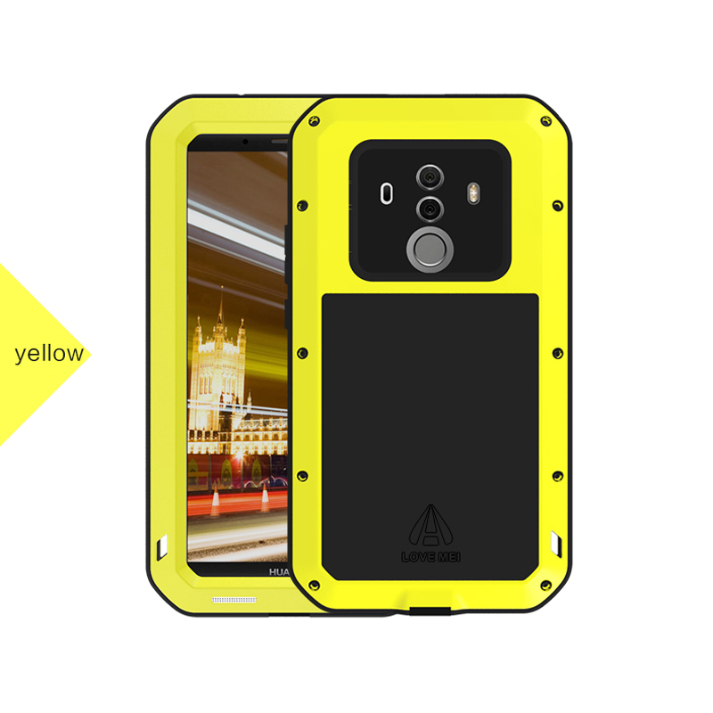 Waterproof Case For Huawei Mate 10 Pro Original LOVE MEI Powerful Extreme Metal Case Mate10 Pro Case Lovemei Mate 10 Cases
