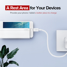 Stylish Wall Mounted Charging Holder for Phone/Tablet