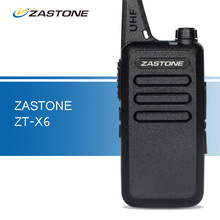 Zastone ZT-X6 Mini Walkie Talkie UHF 400-470MHz Portable Ham Radio Handheld Two Way Radio Transceiver Portable Walkie Talkies
