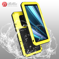 LOVE MEI Metal Aluminum Case For Sony Xperia XZ4 Cover Powerful Armor Shockproof Life Waterproof Case For Sony Xperia 1 Coque