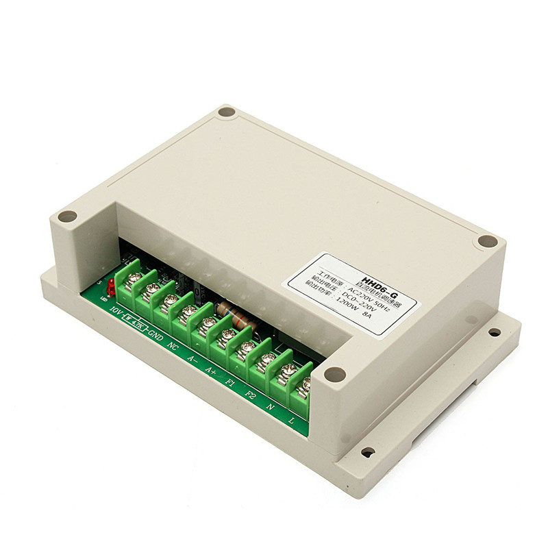 Input ac v output dc motor speed controller w