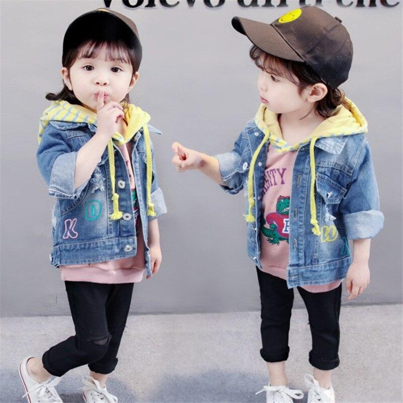 Zoe Saldana 2018 Kid kleding Unisex Baby jongens meisjes denim lange - Kinderkleding - Foto 2