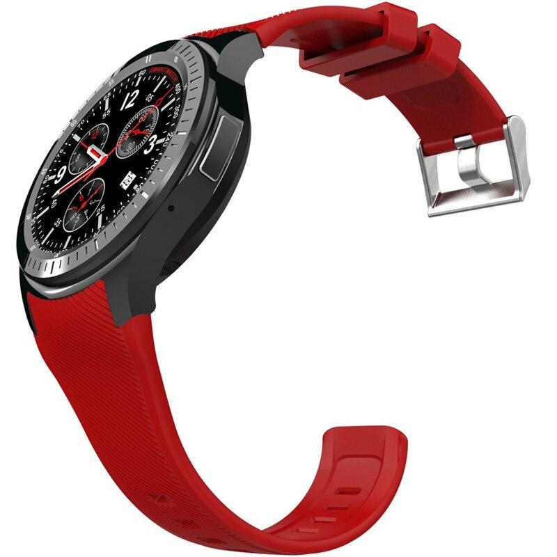 Новое прибытие смарт часы smartwatch dm «amoled дисплей quad core bluetooth4.