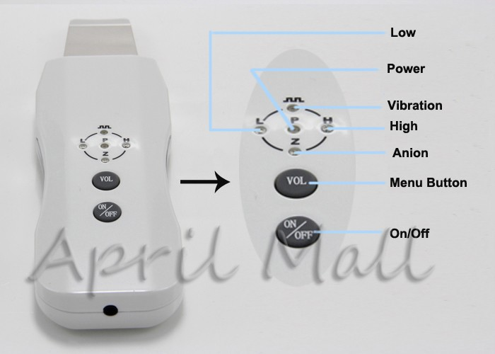 Portable Anion Skin Cleaner Facial Peeling Ultrasonic Scrubber Face Cleansing Machine Beauty Cleaning Spa Care Acne Removal Tool 15