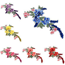8 Color 3D Flower Guipure Collar Fake Neckline Lace Trim Embroidered Neck Applique Sewing Craft Embroidery Collar plus guipure lace trim ladder cutout neck tee