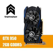 Graphics Card  GTX 950 2GB 2048MB DDR5 128Bit carte graphique Video Card for Nvidia GTX PC