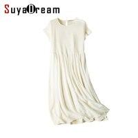 Women Silk Dress 100 Natural Silk Long Dress Solid Cheer Chiffon Silk Classic Dress 2017 Spring