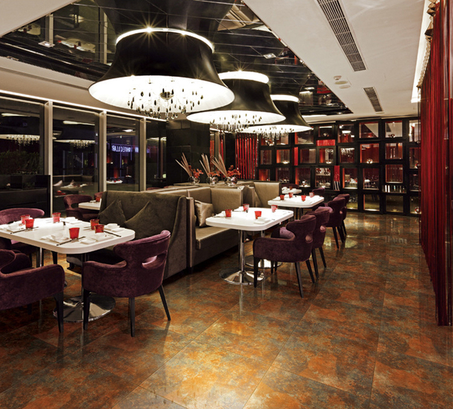 600600mm classic restaurant kitchen non slip floor tile ktv ceramic tile floor tile metal