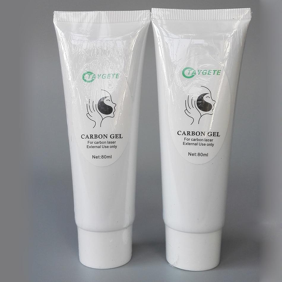 10pcs Carbon Laser Cream Black Doll Skin Whitening Nd Yag Laser Carbon Gel Cream For Sale